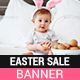 Easter Sale web banners - GraphicRiver Item for Sale