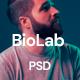 BioLab - Personal Portfolio, CV PSD Template - ThemeForest Item for Sale