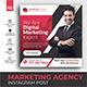 Digital Marketing Agency Promotion Instagram post - GraphicRiver Item for Sale