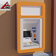 ATM machine - 3DOcean Item for Sale
