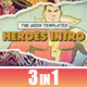 Heroes Intro - VideoHive Item for Sale