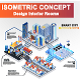 Modern Isometric Concept Vector Illustration - GraphicRiver Item for Sale