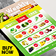 Supermarket Flyer / Grocery Ads Product Catalog Flyer - GraphicRiver Item for Sale