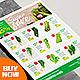 Supermarket Flyer / Fresh Vegetable Product Catalog Flyer - GraphicRiver Item for Sale