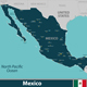Map of Mexico - GraphicRiver Item for Sale