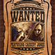 Country Music Flyer Template V6 - GraphicRiver Item for Sale