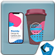 Coffee Cups & Phone12 Mockup - GraphicRiver Item for Sale