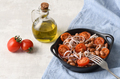 Salad with beans, tomatoes and red onion - PhotoDune Item for Sale