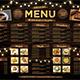 Rustic Menu Board - GraphicRiver Item for Sale