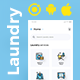 Multi Vendor Laundry Booking & Delivery App| Android + iOS App Template | 3 Apps | IONIC 5 | Anywash - CodeCanyon Item for Sale