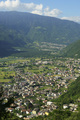 Panoramic view of Valtellina from Ardenno at summer - PhotoDune Item for Sale