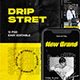 Dripstret Hypebeast Instagram Template - GraphicRiver Item for Sale
