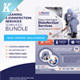 Cleaning & Disinfection Services Template Bundle - GraphicRiver Item for Sale