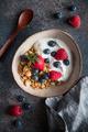 Healthy breakfast, cereal with berries and yogurt - PhotoDune Item for Sale