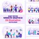 Modern Flat Web Vector Illustrations - GraphicRiver Item for Sale