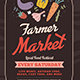 Farmer Market Flyer - GraphicRiver Item for Sale