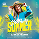 Soothing Summer Party Flyer - GraphicRiver Item for Sale
