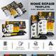 Home Repair Flyer Template Bundle - GraphicRiver Item for Sale