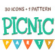 Hand Drawn Picnic Party - GraphicRiver Item for Sale