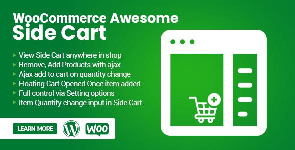 WooCommerce Awesome Side Cart