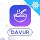 Davur | Restaurant Food React Admin Dashboard Template - ThemeForest Item for Sale