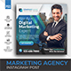 Marketing Social Media Post Banner Template - GraphicRiver Item for Sale