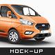 Ford Transit Custom Mockup - GraphicRiver Item for Sale