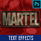 Superhero Cinematic Titles Text Effects vol 3 - GraphicRiver Item for Sale