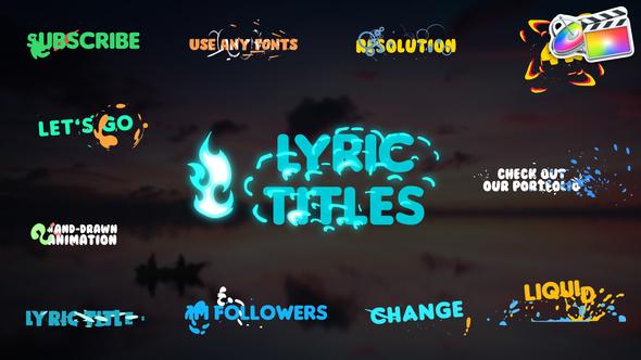 Lyric Titles | FCPX