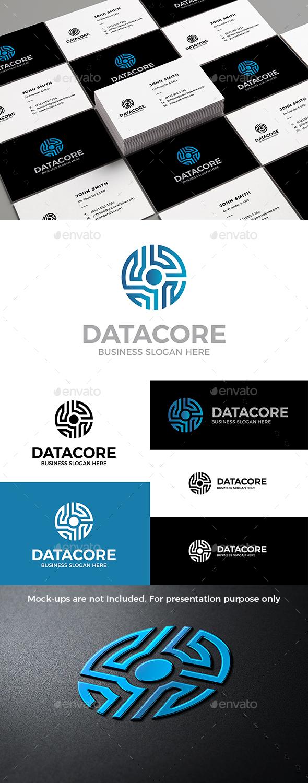 Data Core Logo