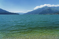 The lake of Como (Lario) at Domaso, Italy - PhotoDune Item for Sale