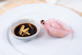 Chinese Har Gao Dim Sum dumplings in the shape of a swan - PhotoDune Item for Sale
