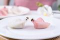 Chinese Har Gao Dim Sum dumplings in the shape of a swan - PhotoDune Item for Sale
