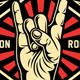 Rock On Hand Sign Vector Illustration - GraphicRiver Item for Sale
