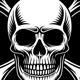 Skull and Crossbones Vector Illustration - GraphicRiver Item for Sale