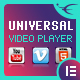 Universal Video Player - YouTube/Vimeo/Self-Hosted - Elementor Widget - CodeCanyon Item for Sale