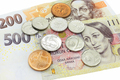 Czech money, banknotes and coins - PhotoDune Item for Sale