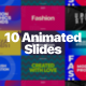 10 Animated Slides - VideoHive Item for Sale