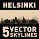 Helsinki Finland City Skyline Set - GraphicRiver Item for Sale