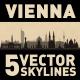 Vienna Austria City Skyline Set - GraphicRiver Item for Sale