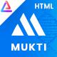 Mukti - Hospital Health HTML Template - ThemeForest Item for Sale