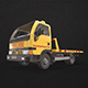 Light Truck Tow - Low Poly - 3DOcean Item for Sale