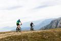 two male cyclists biking - PhotoDune Item for Sale