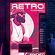 Retrowave Flyer 80s Synthwave Template - GraphicRiver Item for Sale