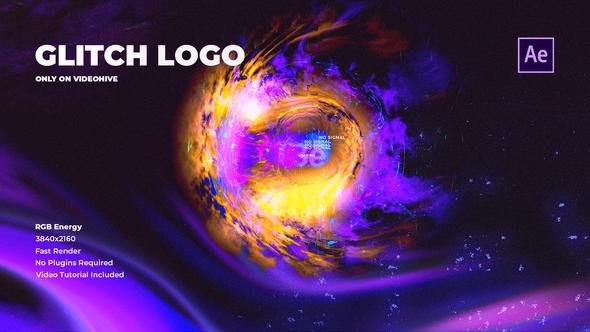 Glitch Logo RGB