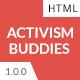 Activism Buddies - Social Campaign & Non Profit HTML5 Template - ThemeForest Item for Sale