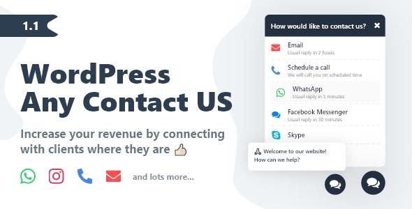 WordPress Any Contact Us