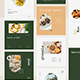 Elegant Restaurant Instagram Post and Story Template - GraphicRiver Item for Sale