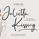 Julietta Kissing - Handwritten Typeface - GraphicRiver Item for Sale
