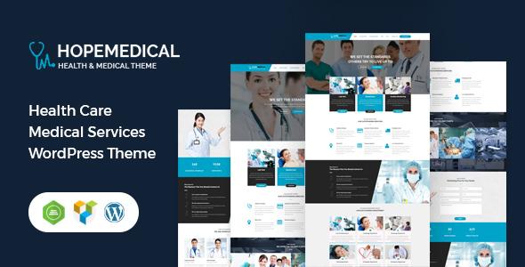 Hope Medical - Health Care WordPress Theme